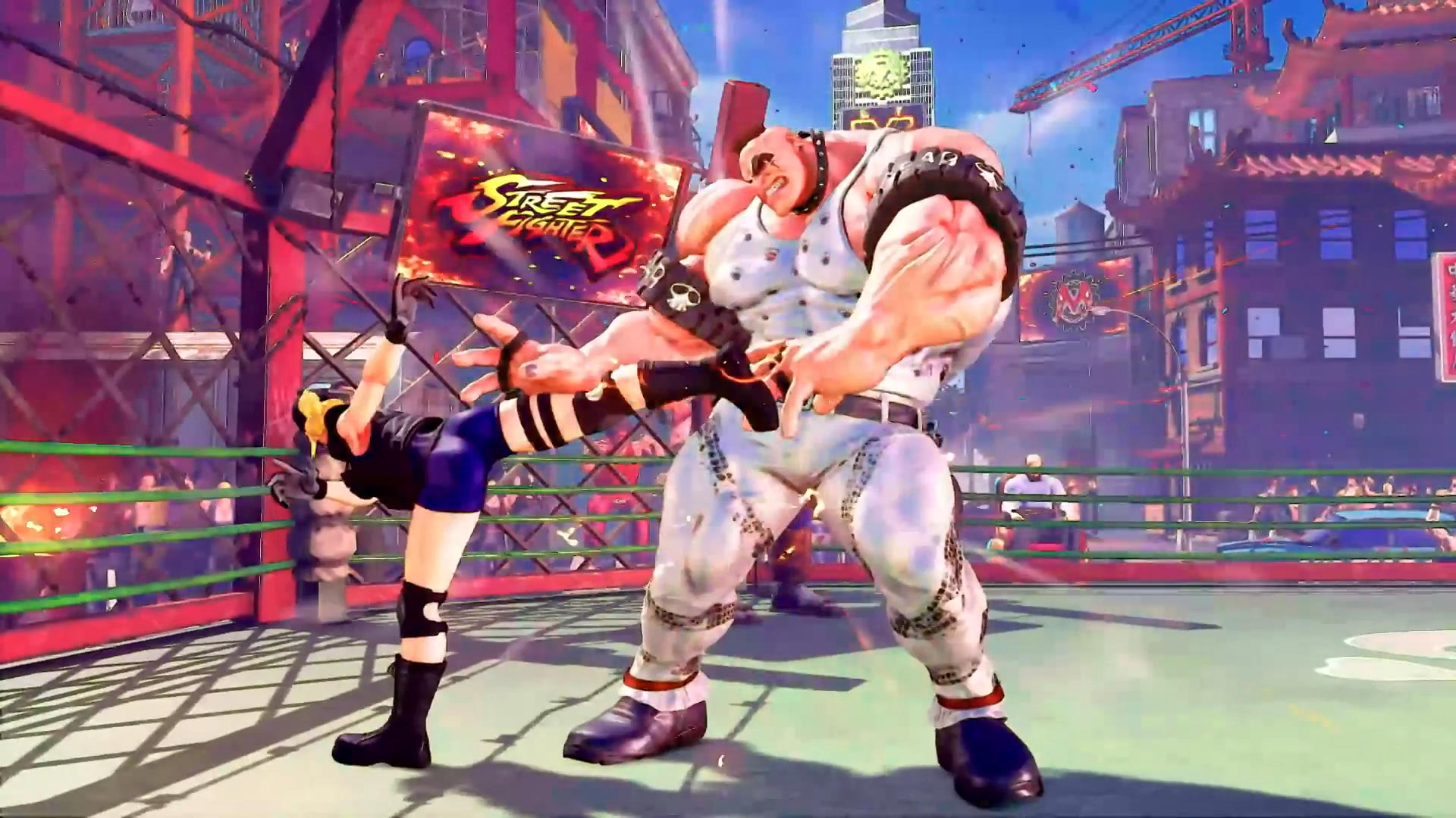 Street Fighter 5 leaked gallery of E. Honda, Lucia and Poison 22 out of 35 image gallery