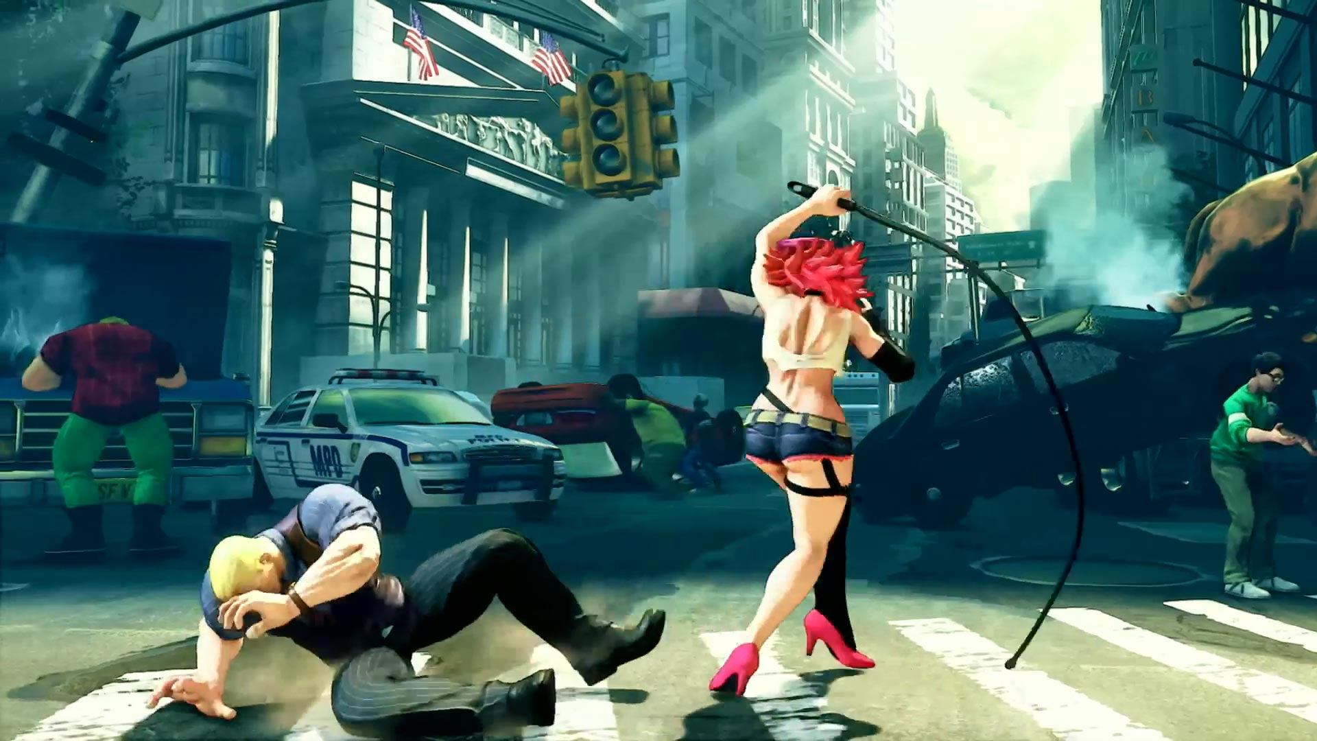 Street Fighter 5 leaked gallery of E. Honda, Lucia and Poison 25 out of 35 image gallery