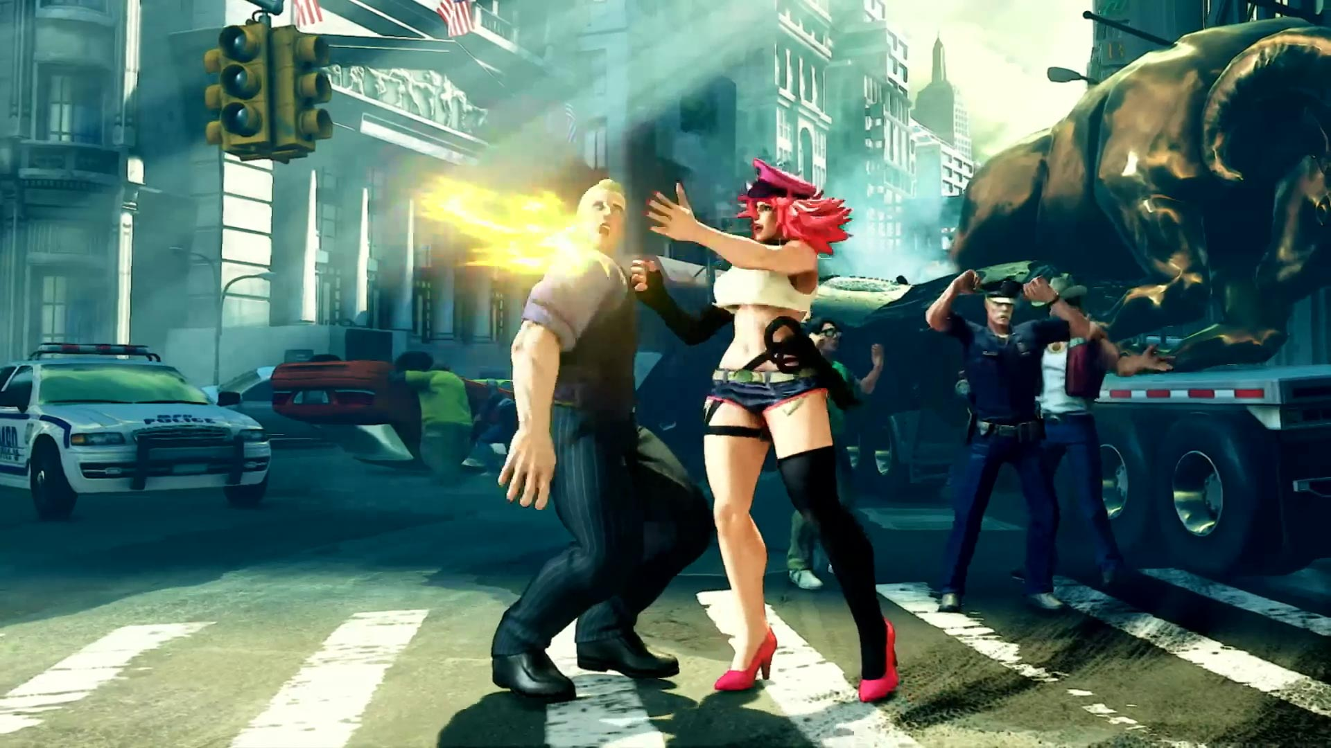 Street Fighter 5 leaked gallery of E. Honda, Lucia and Poison 33 out of 35 image gallery