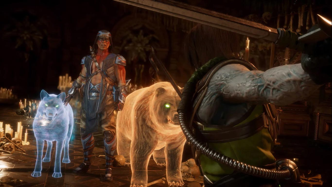 Nightwolf in Mortal Kombat 11 2 out of 9 image gallery