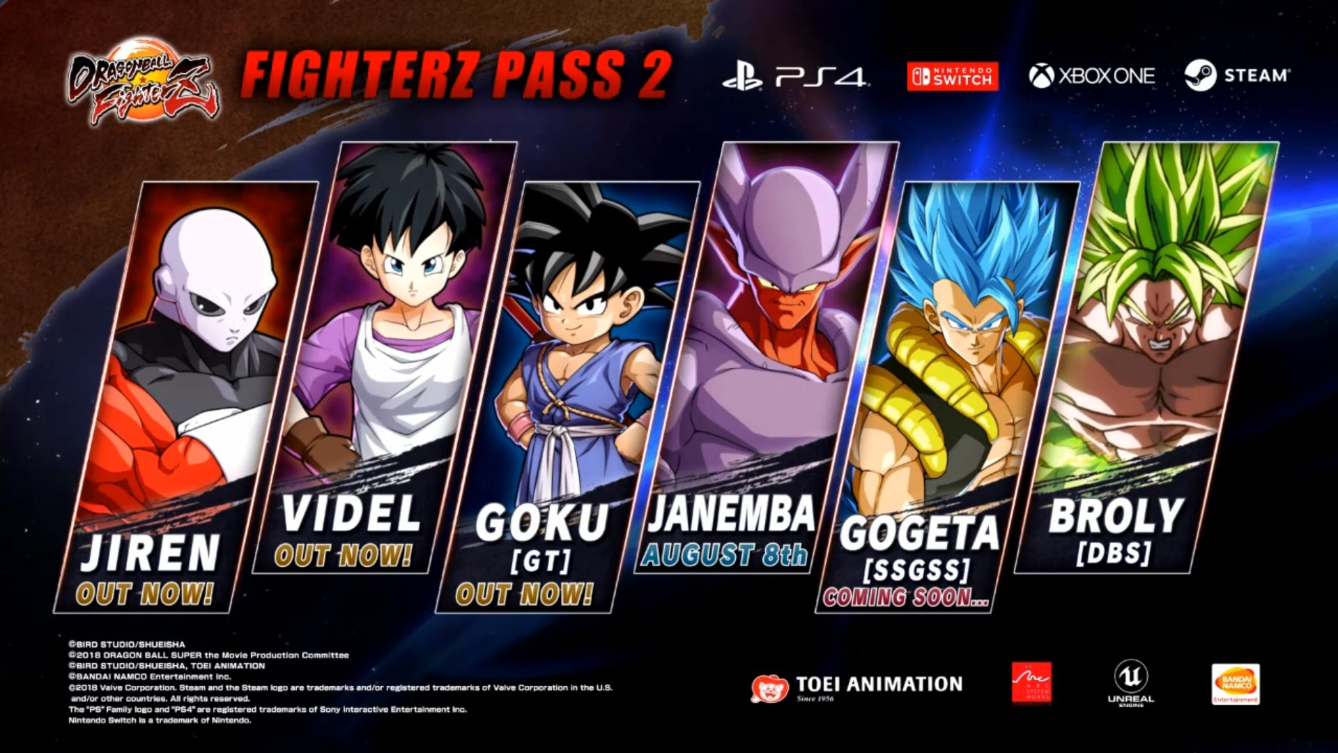 Janemba and Super Saiyan Blue Gogeta Dragon Ball FighterZ gallery 3 out of 12 image gallery