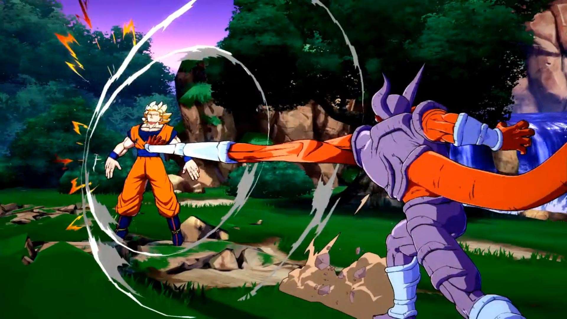 Janemba and Super Saiyan Blue Gogeta Dragon Ball FighterZ gallery 5 out of 12 image gallery