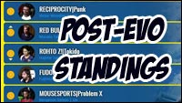 CPT Post EVO Standings image #1