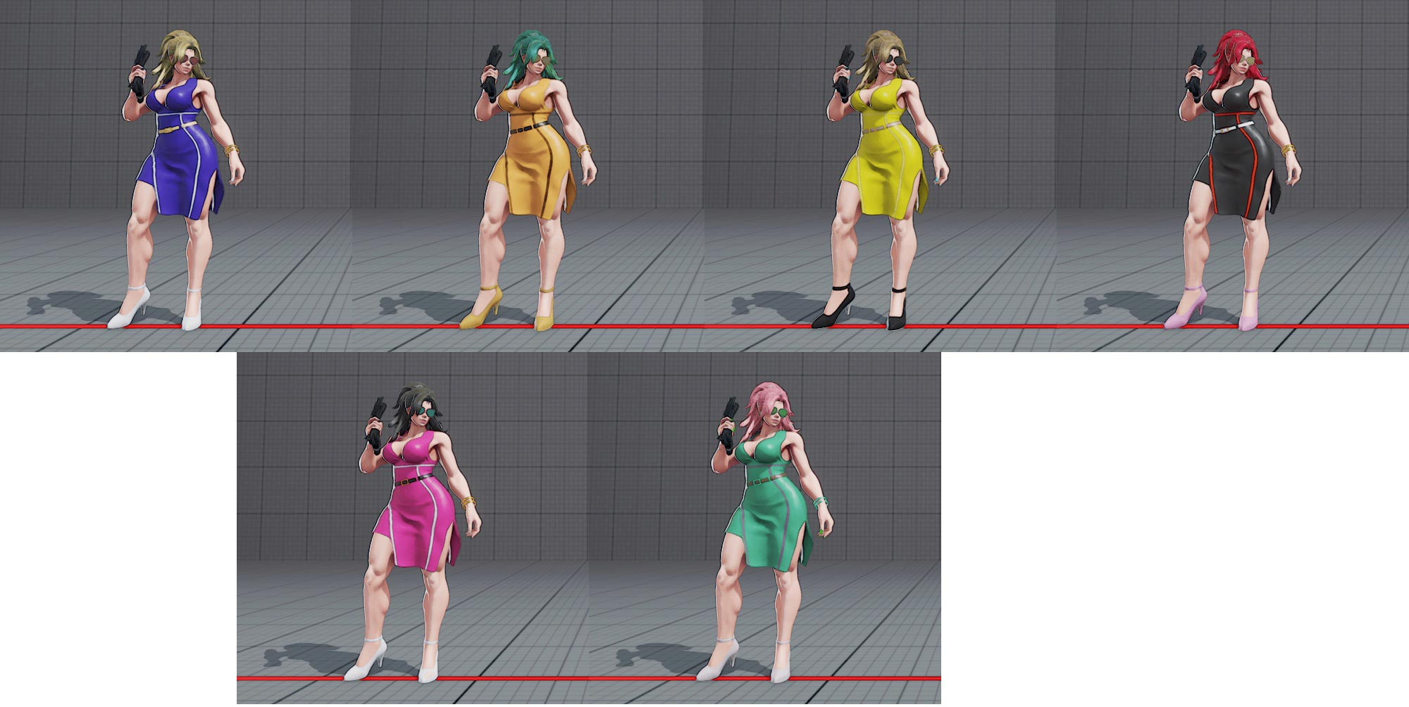 Poison's costume colors in Street Fighter 5 6 out of 22 image gallery