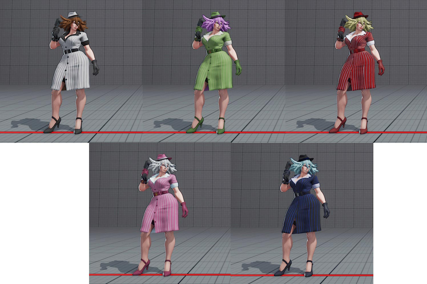 Poison's costume colors in Street Fighter 5 12 out of 22 image gallery