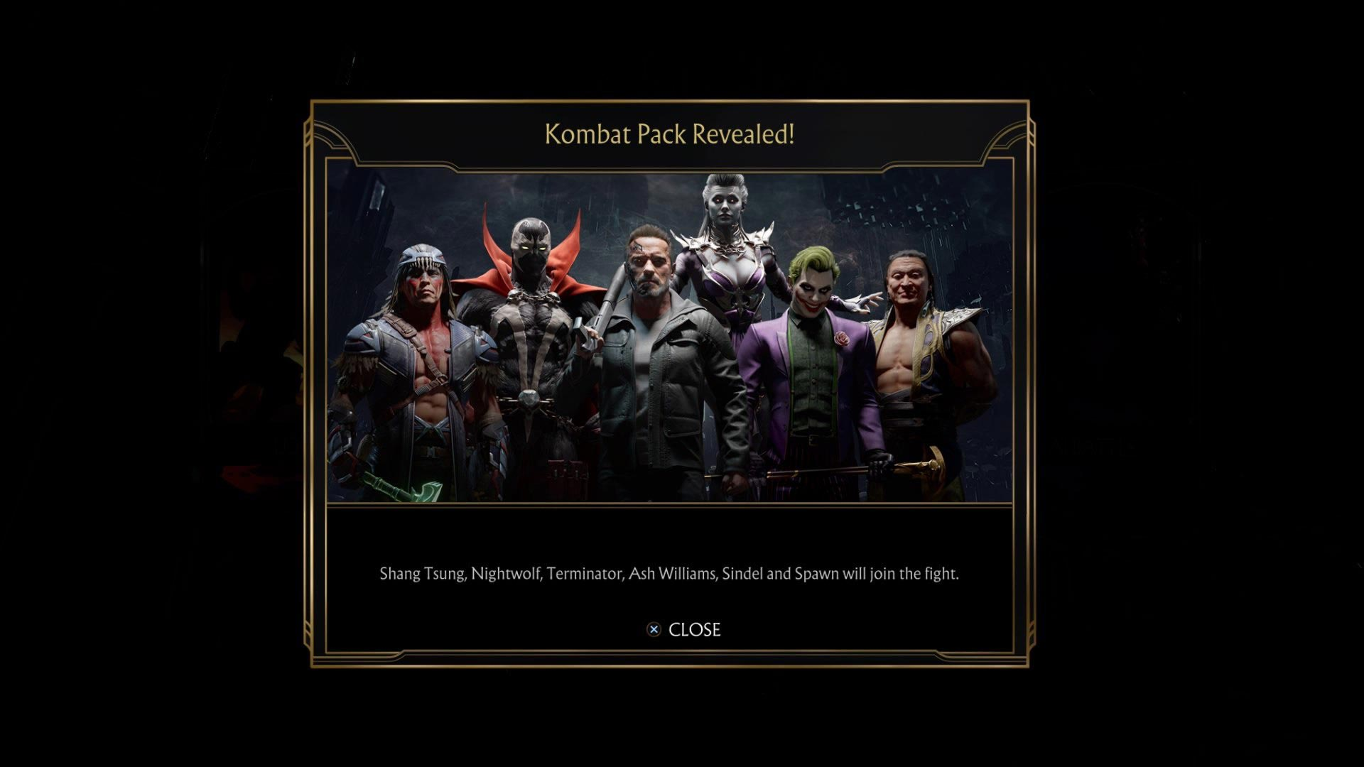 Potential in-game message error leaks another Mortal Kombat 11 DLC characters 2 out of 3 image gallery