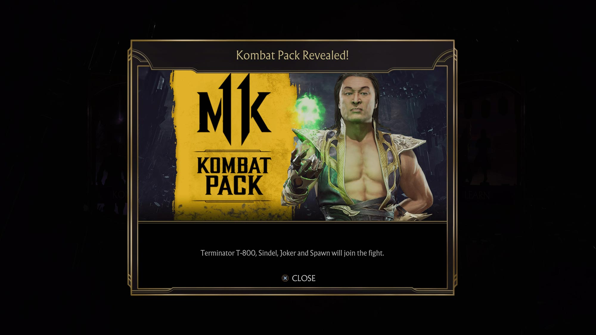 Potential in-game message error leaks another Mortal Kombat 11 DLC characters 3 out of 3 image gallery