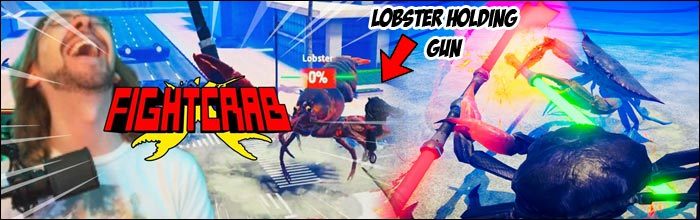These 20 minutes of Fight Crab footage all but proves we'll