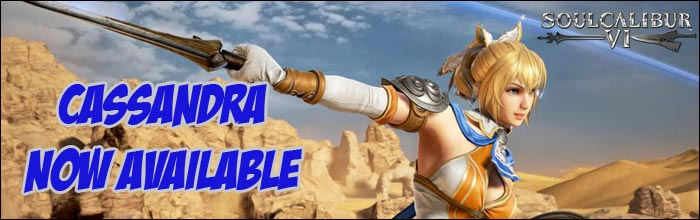 Cassandra now available in Soul Calibur 6