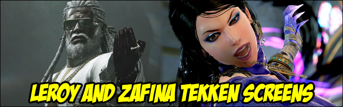 New screenshots for Zafina and Leroy Smith released for Tekken 7