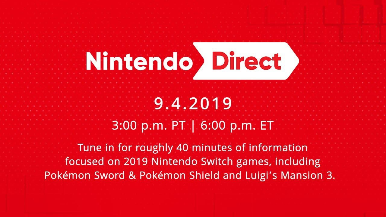 Nintendo Direct scheduled for September 4th 1 out of 1 image gallery