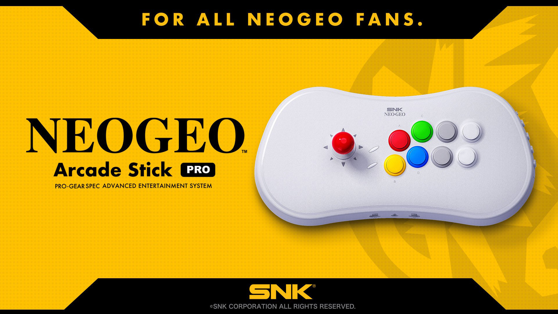 NeoGeo Arcade Stick 1 out of 2 image gallery