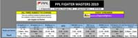 PPL Fighter Masters 2019 Event Schedule image #1