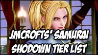 Jmcrofts' new Samurai Shodown tier list image #1
