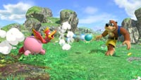 Kirby as Banjo-Kazooie in Super Smash Bros. Ultimate image #3