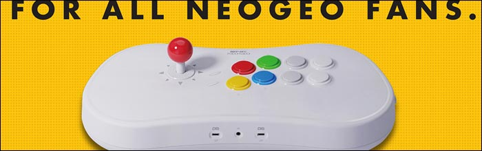 NeoGeo Arcade Stick Pro is a hybrid system packing 20 SNK