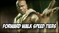 Mortal Kombat 11 walk speed tiers image #1