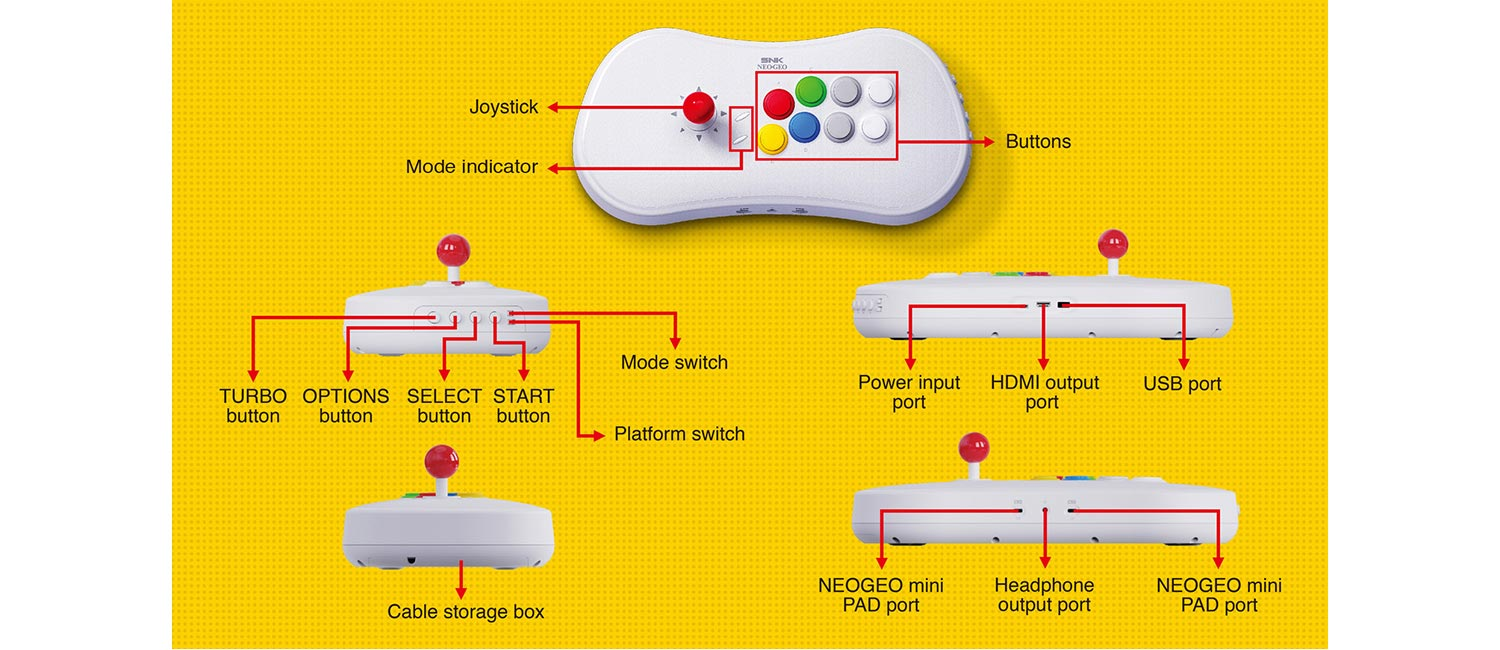 NeoGeo Stick Pro 2 out of 4 image gallery