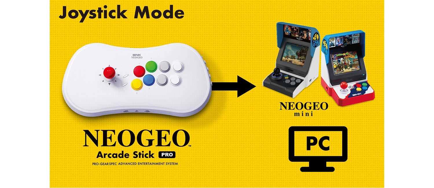 NeoGeo Stick Pro 3 out of 4 image gallery