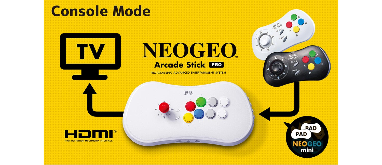 NeoGeo Stick Pro 4 out of 4 image gallery