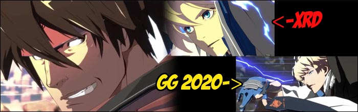 Guilty Gear Xrd Rev 2 Tier List 2020.Side By Side Footage Of The New Guilty Gear And Xrd Shows