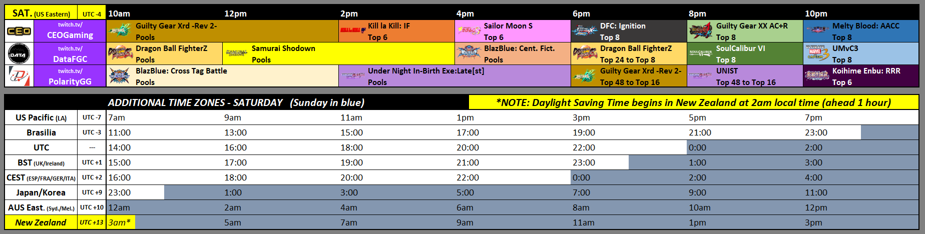 CEOtaku 2019 Event Schedule 1 out of 2 image gallery