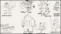 Street Fighter Animal Edition image #3