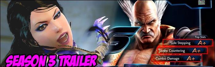 Tekken 7 Season 3 Launch Trailer Shows Off Zafina Gameplay Tons