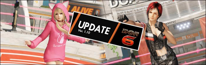 Dead or Alive 6 1 10 update adds nostalgia costumes and