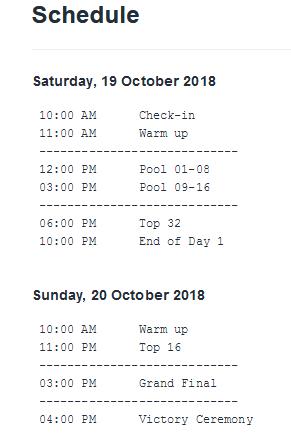 Berlin Tekken Clash Event Schedule 1 out of 1 image gallery