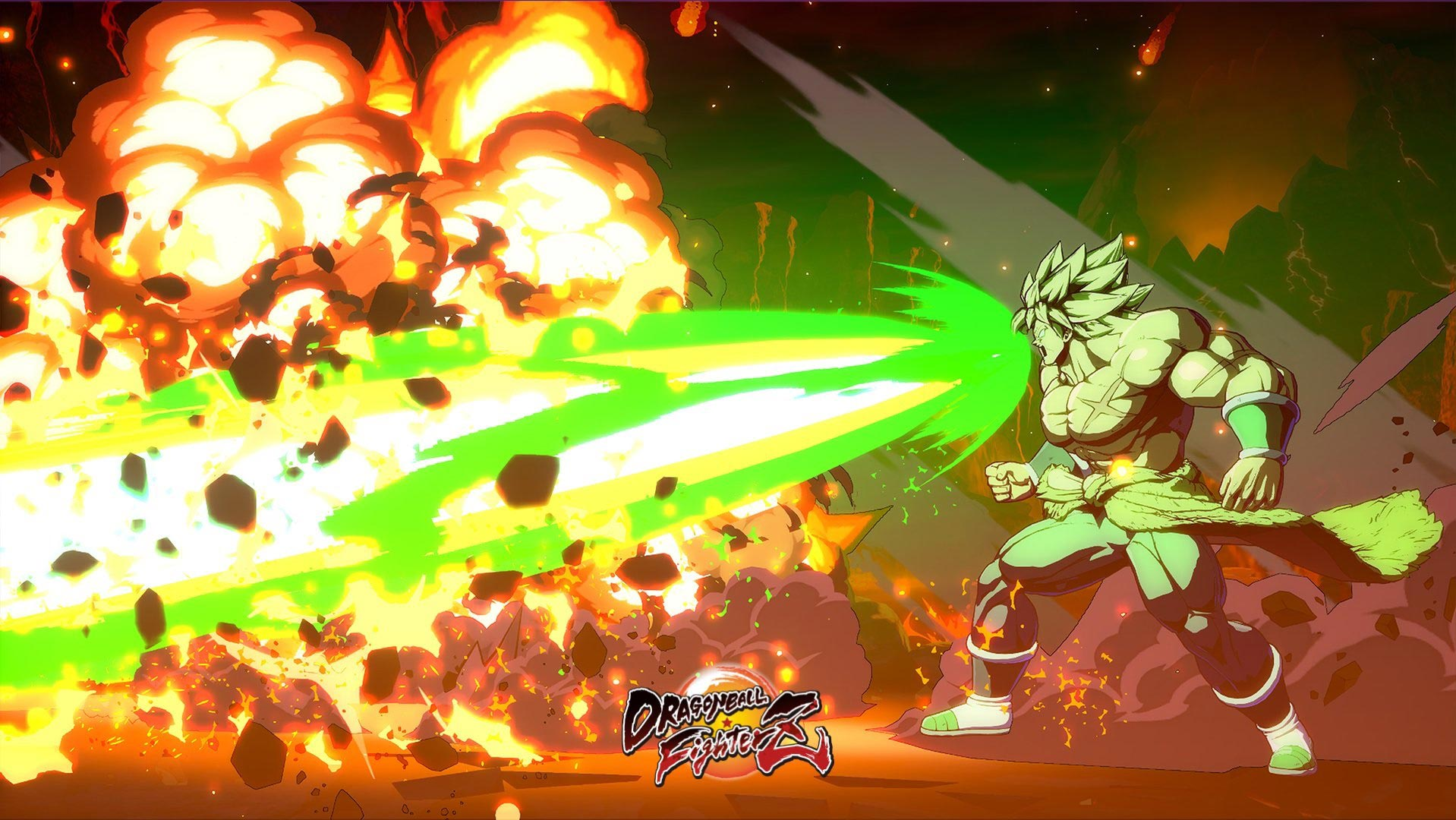 New Super Broly screenshots in Dragon Ball FighterZ 2 out of 4 image gallery