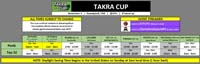 Takra Cup Event Schedule image #1