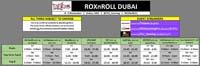 ROXnROLL Dubai Event Schedule image #1