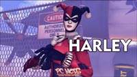 Leon, Catwoman, and Harley Quinn image #1