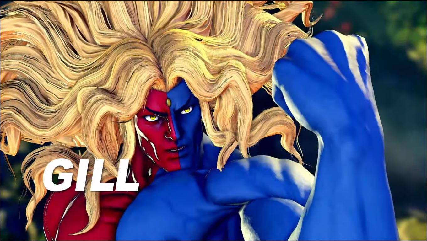 Gill in Street Fighter 5: Champion Edition 1 out of 16 image gallery