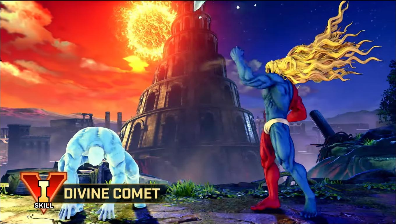 Gill in Street Fighter 5: Champion Edition 4 out of 16 image gallery