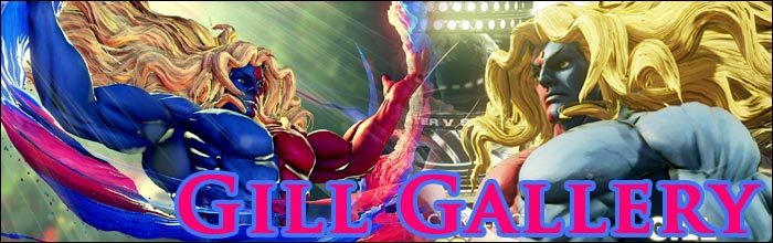 See Gill On Street Fighter 5 S Character Select Screen In This