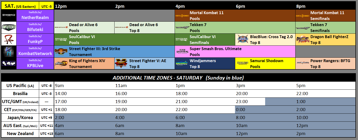 NEC 20 Event Schedule 2 out of 3 image gallery
