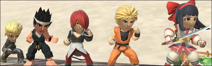 Virtua Fighter Art Of Fighting Samurai Shodown And King Of Fighters Characters Show Up As Mii Fighters In Super Smash Bros Ultimate