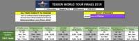 Tekken World Tour 2019 Finals Event Schedule image #1