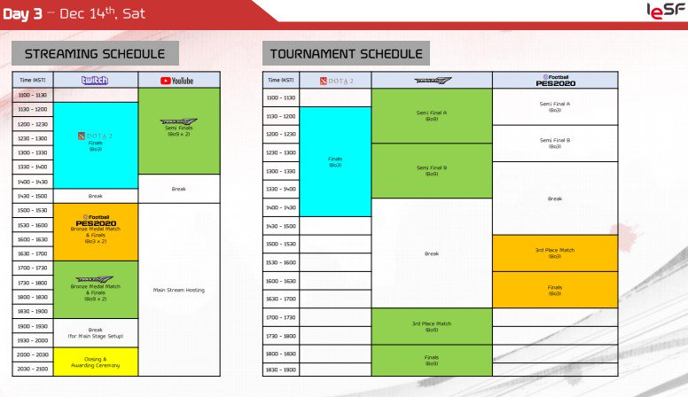 11th eSports World Championship Event Schedule 3 out of 3 image gallery