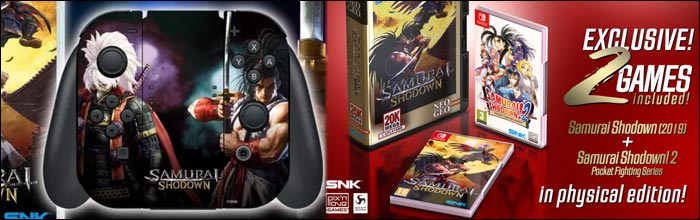 Update Samurai Shodown S Western Release Date For The Nintendo Switch Version Set For February 25 Neogeo Limited Edition Detailed