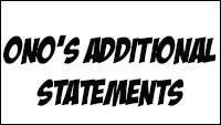 Ono's online tweets image #1