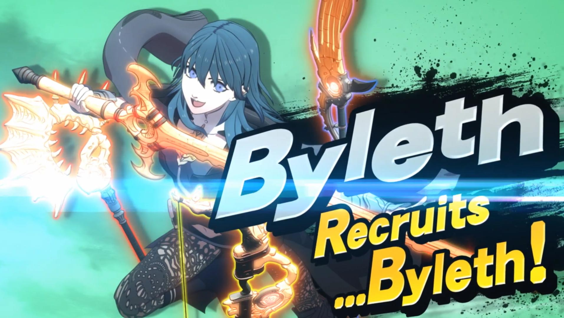 Byleth reveal in Smash Ultimate 1 out of 12 image gallery