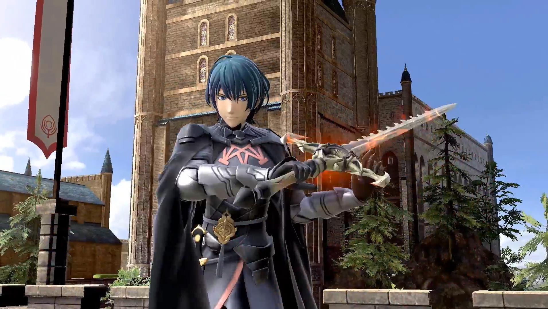 Byleth reveal in Smash Ultimate 3 out of 12 image gallery