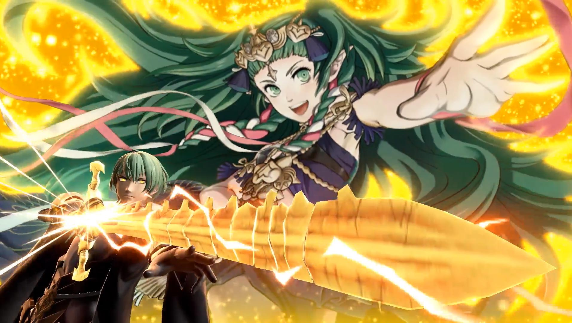 Byleth reveal in Smash Ultimate 9 out of 12 image gallery