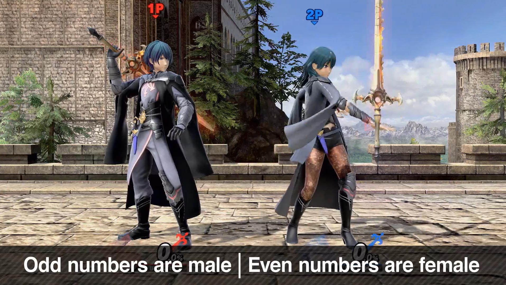 Byleth reveal in Smash Ultimate 12 out of 12 image gallery