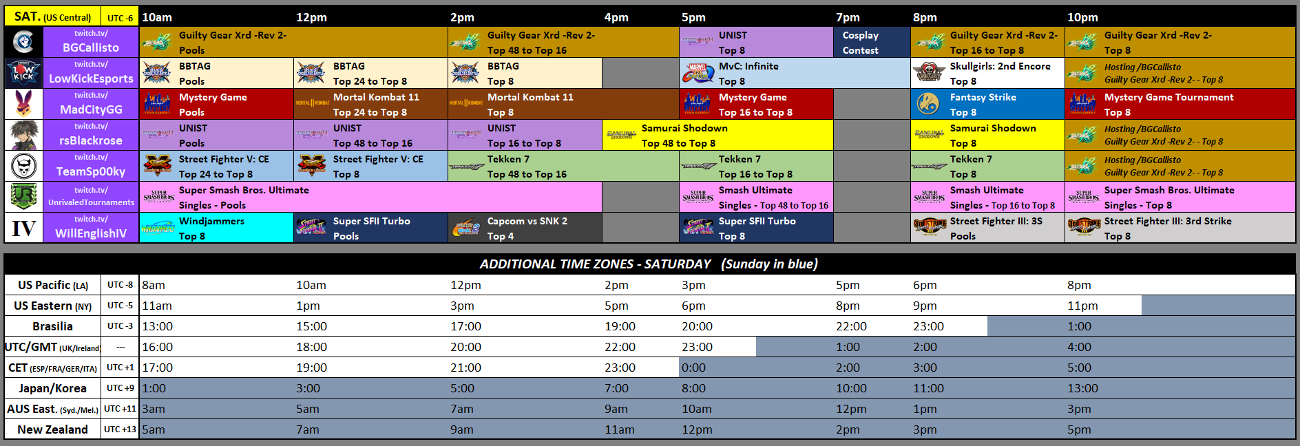 Frosty Faustings XII Event Schedule 2 out of 2 image gallery