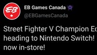 EB Games Street Fighter Tweet image #1