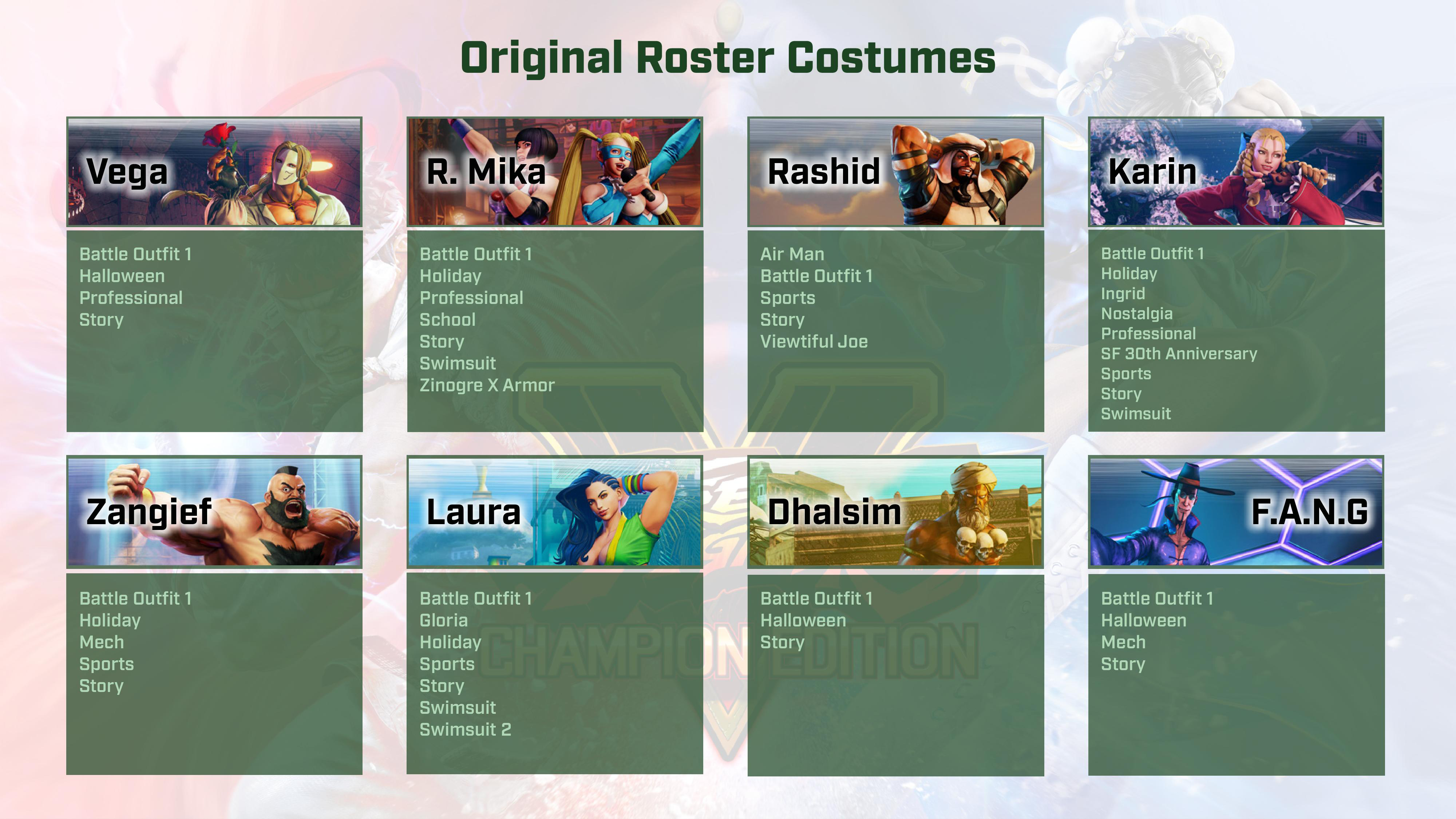 Street Fighter 5: Champion Edition contents 2 out of 9 image gallery